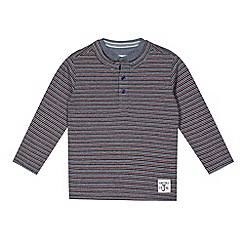 J by Jasper Conran - Designer boy's red striped t-shirt