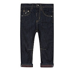 J by Jasper Conran - Designer boy's navy roll back jeans