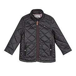 J by Jasper Conran - Designer boy's black quilted jacket