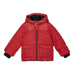 J by Jasper Conran - Boys' red padded coat