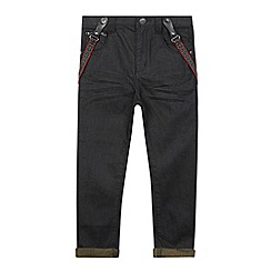 RJR.John Rocha - Designer boy's dark blue jeans and braces