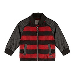 RJR.John Rocha - Boys' red checked Harrington jacket
