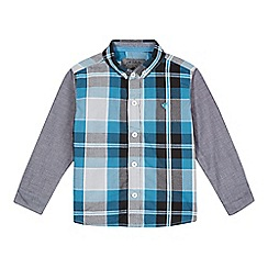 RJR.John Rocha - Designer boy's grey checked shirt