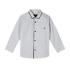 RJR.John Rocha - Designer boy's white geo print shirt