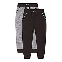 RJR.John Rocha - Pack of two boy's grey jogging bottoms