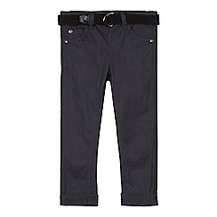 RJR.John Rocha - Designer boy's black belted trousers
