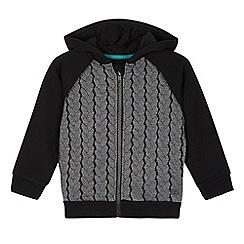 RJR.John Rocha - Boy's grey cable hoodie