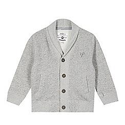 RJR.John Rocha - Designer boy's grey shawl collar cardigan