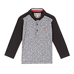 RJR.John Rocha - Boys' grey marl triangle print polo top