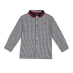 RJR.John Rocha - Boys' black checkered shirt