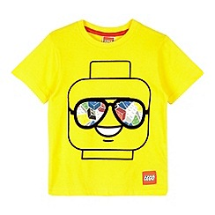 Lego - Boy's yellow Lego head t-shirt