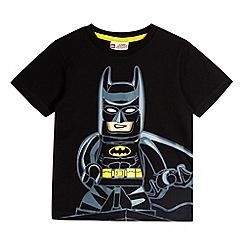 Lego - Boy's black Lego Batman t-shirt