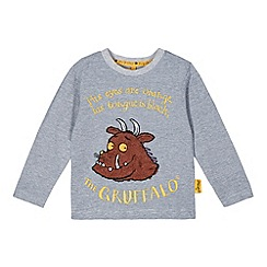 The Gruffalo - Boy's navy striped 'Gruffalo' top