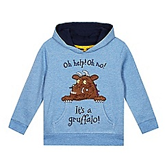 The Gruffalo - Boy's pale blue 'Gruffalo' hoodie