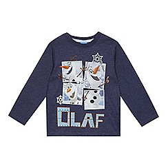 Disney Frozen - Boys' navy 'Olaf' top