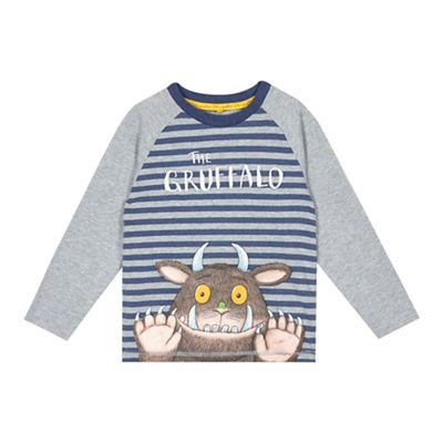 Boys Grey Collar Cardigan