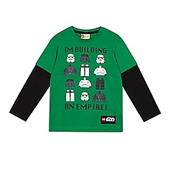 Star Wars - Boys' green 'LEGO Star Wars' top