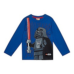 LEGO - Boys' blue 'Star Wars Lego' top