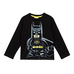 LEGO - Boys' black Lego batman top