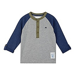 Mantaray - Boy's blue long sleeved t-shirt