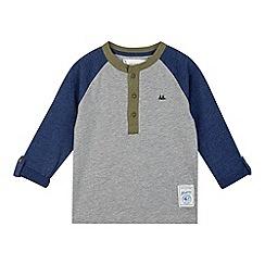 Mantaray - Boy's blue long sleeved t-shirt