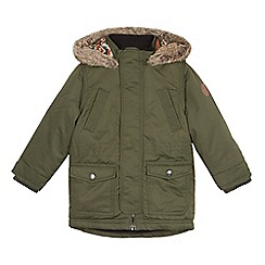 Mantaray - Boys' khaki parka coat