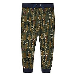 Mantaray - Boy's khaki woodland jogging bottoms