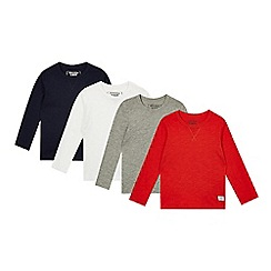 bluezoo - Set of four boys' assorted long sleeved tops