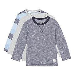 bluezoo - Set of three Boys' striped t-shirts
