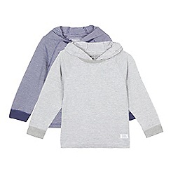 bluezoo - Set of two Boys' striped hooded tops