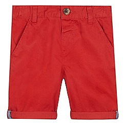bluezoo - Boys' red chino shorts