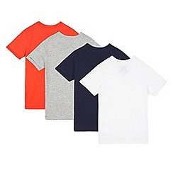 bluezoo - Pack of four boys' assorted t-shirts