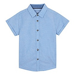 bluezoo - Boys' blue short sleeved shirt