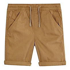 bluezoo - Boys' beige woven shorts