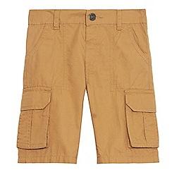 bluezoo - Boys' brown cargo shorts
