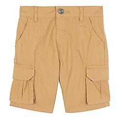 bluezoo - Boys' tan cargo shorts