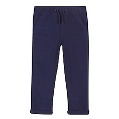 bluezoo - Boys' navy linen trousers