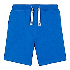 bluezoo - Boys' blue jersey shorts