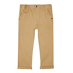 bluezoo - Boys' tan fixed waist chinos