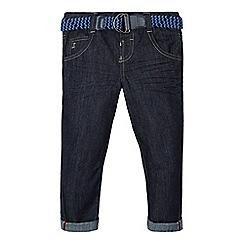 J by Jasper Conran - Boys' dark blue belted jeans
