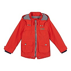 J by Jasper Conran - Boys' orange raincoat