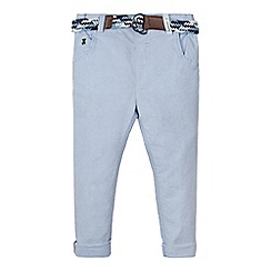 J by Jasper Conran - Boys' light blue belted trousers