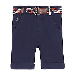 J by Jasper Conran - Boys' navy chino shorts