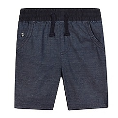 J by Jasper Conran - Boys' navy chambray shorts