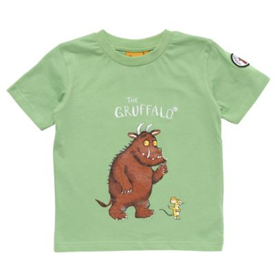 Girls light green Gruffalo t-shirt