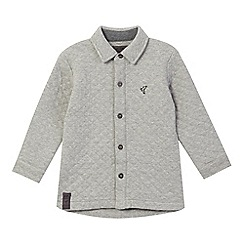RJR.John Rocha - Boys' grey quilted sweat jacket