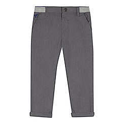 RJR.John Rocha - Boys' grey chinos with elasticated waistband