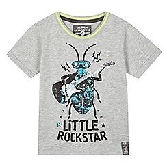 RJR.John Rocha - Boys' grey 'Rockstar' t-shirt