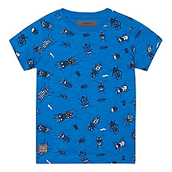 RJR.John Rocha - Boys' blue bug print t-shirt