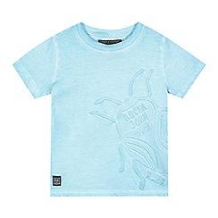 RJR.John Rocha - Boys' turquoise embossed t-shirt